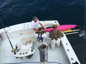 Seaglider Recovery in the mid-Atlantic Bight